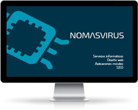Nomasvirus marca de diseño web SEO