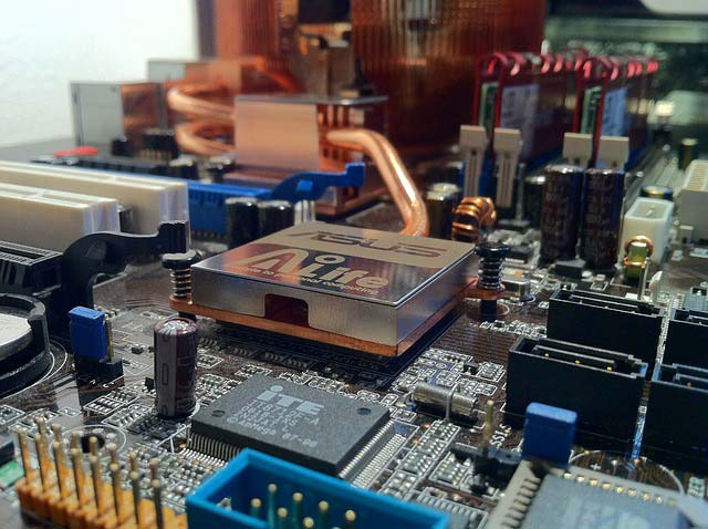 placa base de ordenador